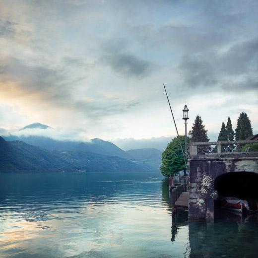Lago di Orta - la bache