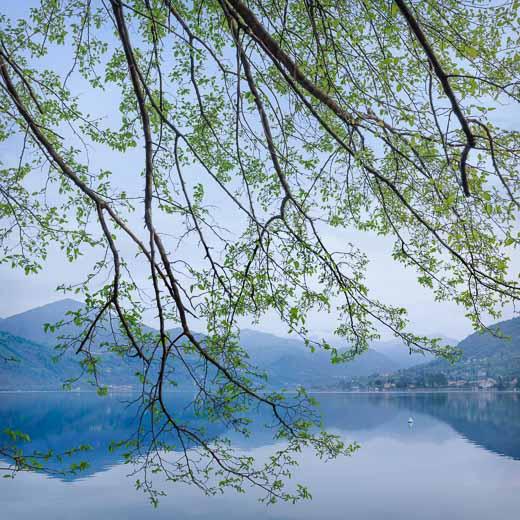Lago di Orta - la mattina