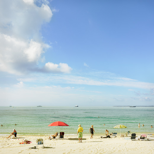 Juan-les-pins, la plage